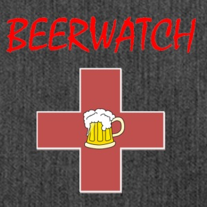 Beerwatch small logo - Shoulder Bag made from recycled material