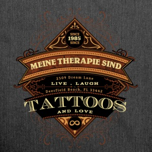 tattoo therapie - Schoudertas van gerecycled materiaal