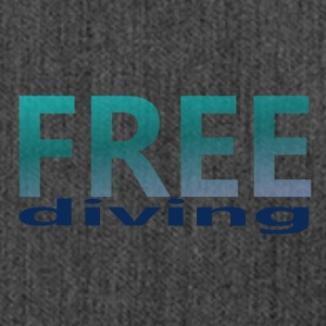 freediving - Shoulder Bag made from recycled material