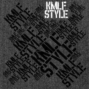 KMLF-STYLE-graphics - Shoulder Bag made from recycled material