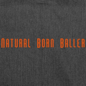 Natural Born Baller slogan - Borsa in materiale riciclato