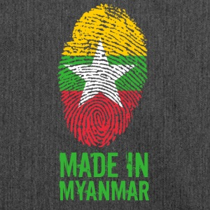 Made In Myanmar / Birmanie / Birmanie - Sac bandoulière 100 % recyclé