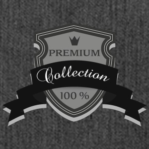 100% Premium Collection Marke - Schultertasche aus Recycling-Material