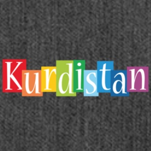 Kurdistan designstyle colors m - Schultertasche aus Recycling-Material