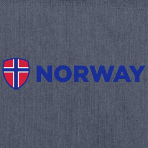 National Flag Of Norway - Shoulder Bag made from recycled material
