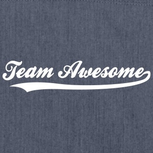 Team Awesome! - Skulderveske av resirkulert materiale