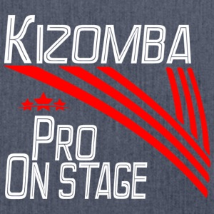 Kizomba Pro - On Stage blanco - Pro Dance Edition - Bandolera de material reciclado