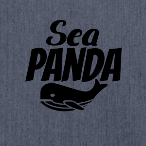 Sea Panda - Shoulder Bag made from recycled material