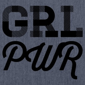 girl power - Schultertasche aus Recycling-Material