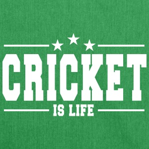 Cricket is life 1 / Cricket is life - Shoulder Bag made from recycled material