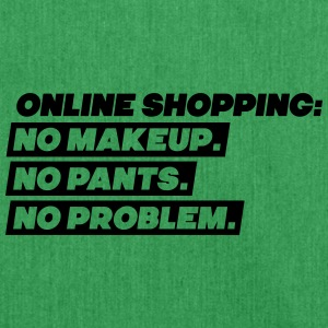 Online shopping: Nei Makeup, No Pants, No Problem - Skulderveske av resirkulert materiale