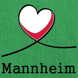 I love Mannheim! - Shoulder Bag made from recycled material
