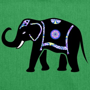 Elefant Indien - Schultertasche aus Recycling-Material