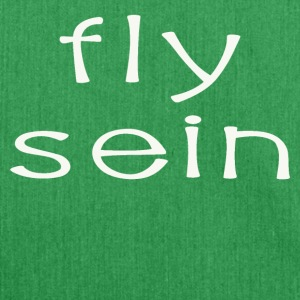 fly sein - Schultertasche aus Recycling-Material