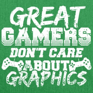 Funny Gamer Gaming Shirt Great Gamers - Shoulder Bag made from recycled material