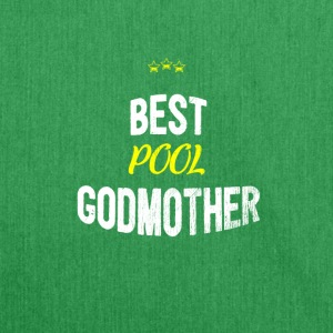 Distressed - BEST POOL GODMOTHER - Schultertasche aus Recycling-Material