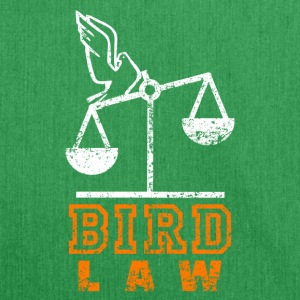 Bird Law Distressed - Schoudertas van gerecycled materiaal