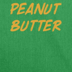 Peanut Butter - Peanut Butter - Shoulder Bag made from recycled material