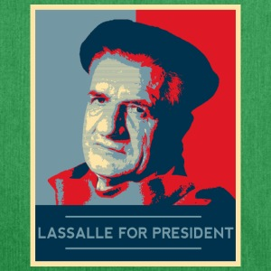 Lassalle-Obama For President - Sac bandoulière 100 % recyclé