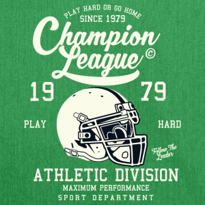 Champion League Athletic Division Baseball-Shirt - Schultertasche aus Recycling-Material