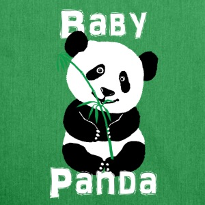Panda-Baby - Schultertasche aus Recycling-Material