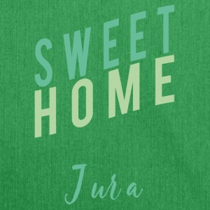 Home sweet Jura swiss Home shirt heimat - Schultertasche aus Recycling-Material