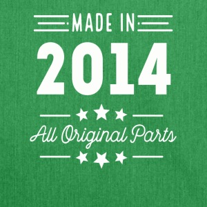 Made In 2014 All Original Parts - Shoulder Bag made from recycled material