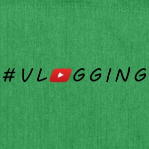 YouTube #Vlogging - Shoulder Bag made from recycled material