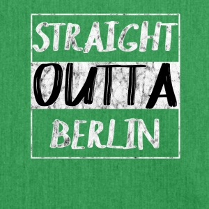 Straight Outta Berlin T-Shirt - Skuldertaske af recycling-material