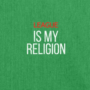 LOL er min religion League shirt - Skuldertaske af recycling-material