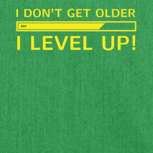 I Level Up! Gamer T-Shirt - Shoulder Bag made from recycled material