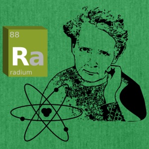 Marie Curie - radium - Shoulder Bag made from recycled material