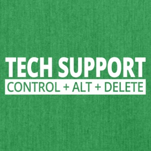 tech support - Schoudertas van gerecycled materiaal