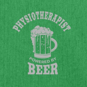PHYSIOTHERAPIST powered by BEER - Shoulder Bag made from recycled material