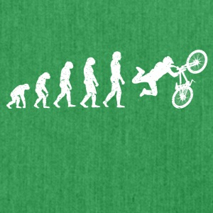 Evolution Bike Stunt Bike cool shirt - Shoulder Bag made from recycled material