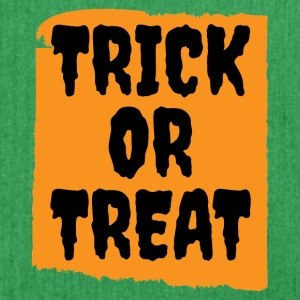 Halloween - Trick or Treat - Schoudertas van gerecycled materiaal