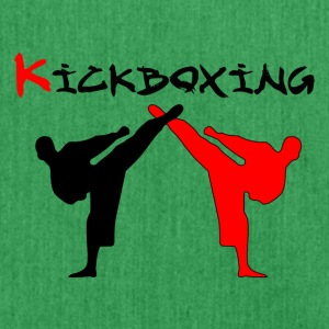 Kickboxer Fight MMA skygge Muy Thai - Skuldertaske af recycling-material