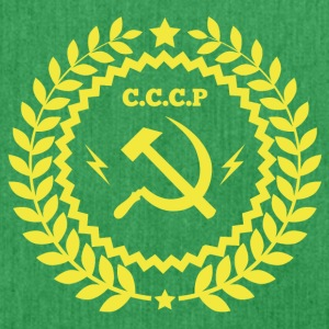 Communist Symbol Hammer Sickle - Shoulder Bag made from recycled material