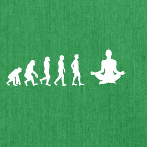 EVOLUTION yoga meditation - Schultertasche aus Recycling-Material