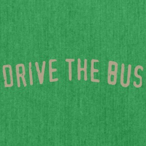 Drive the Bus - Schultertasche aus Recycling-Material