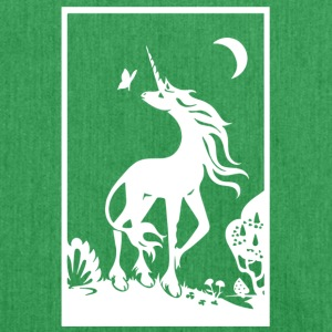 Unicorn | Unicorno nella foresta incantata - Borsa in materiale riciclato