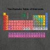 Periodic Table of Elements (PTE) dark - Shoulder Bag made from recycled material