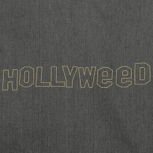 Hollyweed shirt - Shoulder Bag made from recycled material