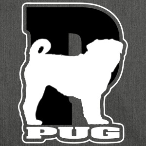 PUG P - Shoulder Bag made from recycled material