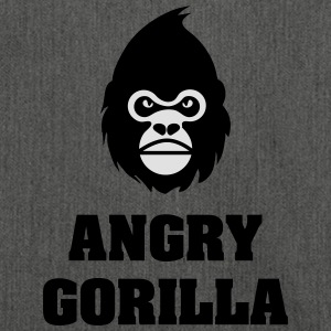 angry_gorilla - Shoulder Bag made from recycled material