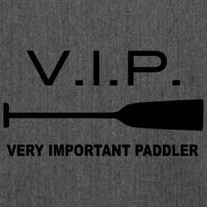 VIP Very Important Paddler Dragon Boat Canoe 1c - Shoulder Bag made from recycled material