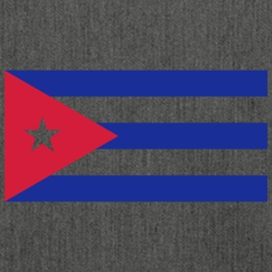 National Flag Of Cuba - Skuldertaske af recycling-material