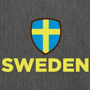 National Flag Of Sweden - Shoulder Bag made from recycled material
