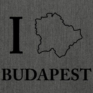 I Love Budapest Hungary Capital Ungarn Shirt - Schultertasche aus Recycling-Material