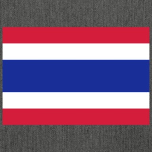 National Flag Of Thailand - Axelväska av återvinningsmaterial